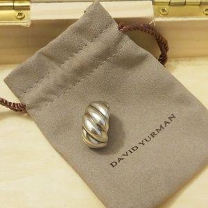 David Yurman Wide Sculpted Hampton Cable Ring
